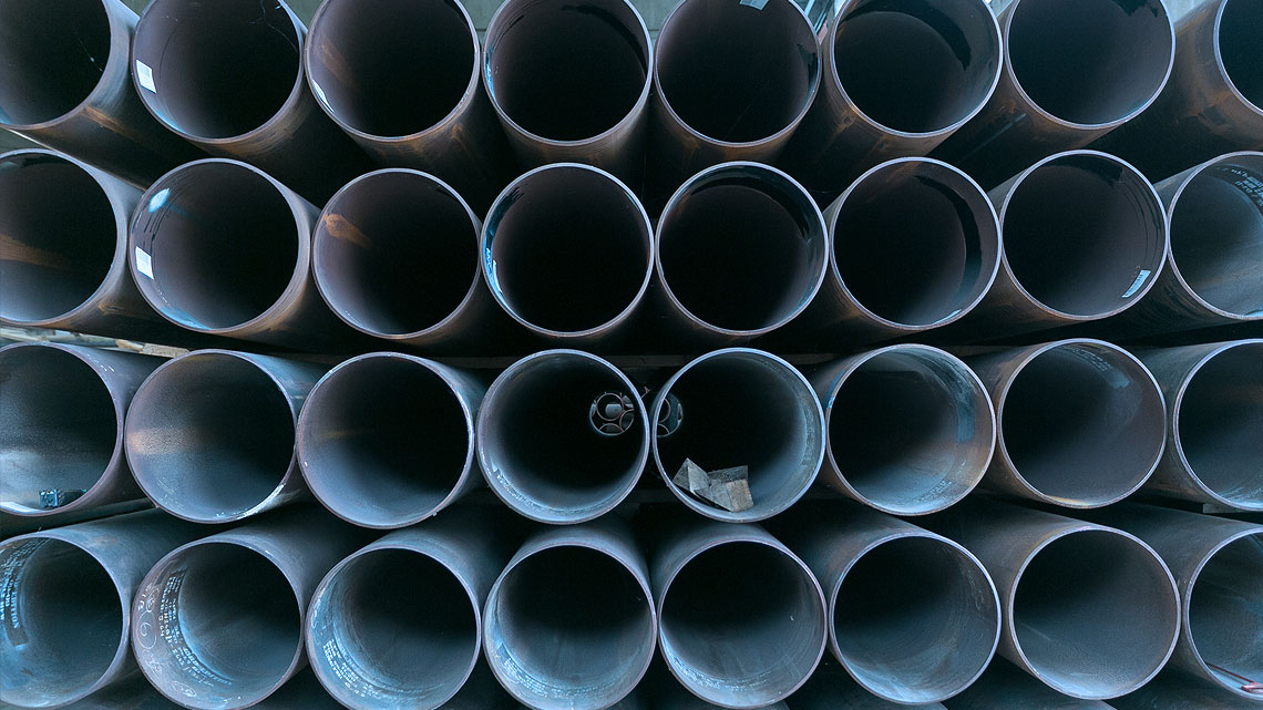 industrial pipes for plants